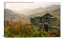 Old Barn, Kirkstone, Canvas Print