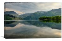 Ullswater reflections, Canvas Print