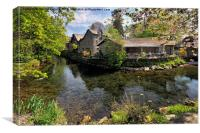 Grasmere Tea Gardens, Canvas Print