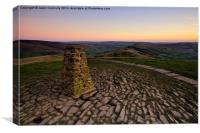Views From Mam Tor, Canvas Print
