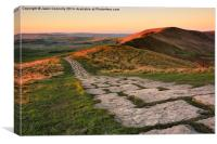 Enroute To Lords Seat, Canvas Print