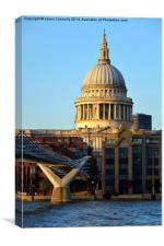 St Paul's Cathedral, London, Canvas Print