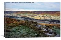 The Vale Of Edale, Canvas Print