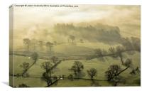 The Valley Of Mist, Canvas Print