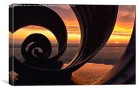 Marys Shell, Cleveleys, Canvas Print