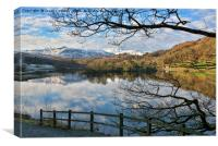 Rydal Water, Cumbria, Canvas Print