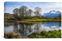 Elterwater Dreams, Canvas Print