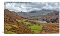 Blea Tarn, Little Langdale, Canvas Print