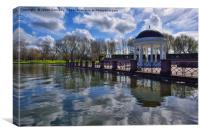 Stanley Park Bandstand, Canvas Print