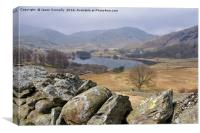 Little Langdale Tarn, Canvas Print