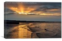 Fleetwood Sunset, Canvas Print