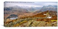 Views From Lingmoor Fell, Canvas Print