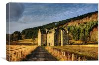 Clan Menzies Castle, Canvas Print