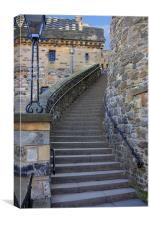 The Lang Stairs, Canvas Print