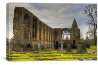 Abbey Refectory, Canvas Print