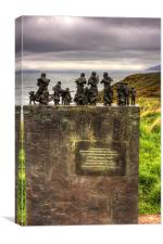The Memorial at Cove, Canvas Print
