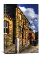 Goathland Ticket Office, Canvas Print