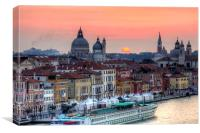 Venetian Dawn, Canvas Print