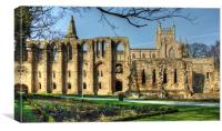 Dunfermline Abbey, Canvas Print