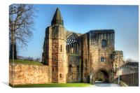 Gatehouse and Pend, Canvas Print