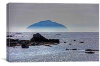 Misty Ailsa Craig, Canvas Print
