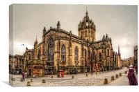 High Kirk of Edinburgh, Canvas Print