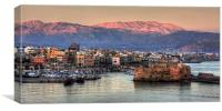 Heraklion Sunrise, Canvas Print