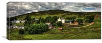 Wanlockhead View, Canvas Print