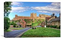 Bamburgh, Canvas Print