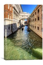 That Bridge in Venice, Canvas Print