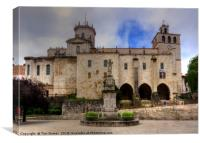 Santander Cathedral, Canvas Print