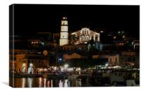 The bright lights of Halki, Canvas Print