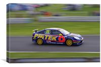 Touring Cars - Jordan 77, Canvas Print