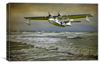 Catalina Flying Boat, Canvas Print