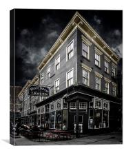 The White Horse Tavern, Canvas Print