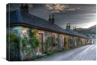 Luss Village, Loch Lomond, Canvas Print