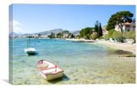 Puerto Pollensa Morning, Canvas Print