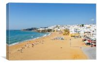The Old Town Of Albufeira, Canvas Print