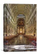 Palermo Cathederal, Canvas Print