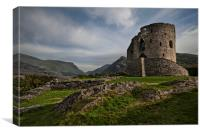 Dolbadarn Castle, Canvas Print