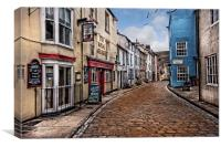 Staithes Yorkshire, Canvas Print
