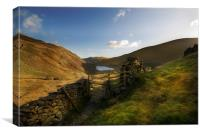 Dawn over Haweswater, Canvas Print