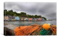 Tobermory Isle of Mull, Canvas Print