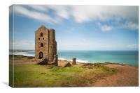 St Agnes Cornwall, Canvas Print