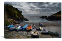 Cadgwith Cove Cornwall, Canvas Print