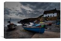 Cadgwith cove at dusk, Canvas Print