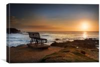 End of the day , Canvas Print