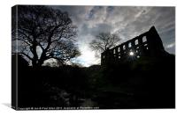 Dark Satanic Mills, Canvas Print