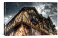 Tudor House - Oxford, Canvas Print