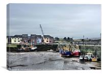 Maryport Harbour, Canvas Print